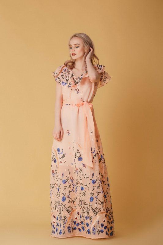 Вечернее платье В1106 - фото 1