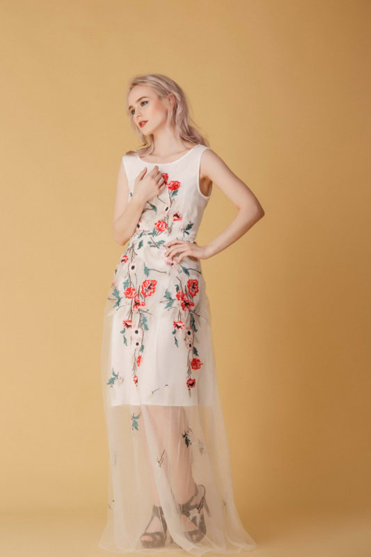 Вечернее платье М015 - фото 1