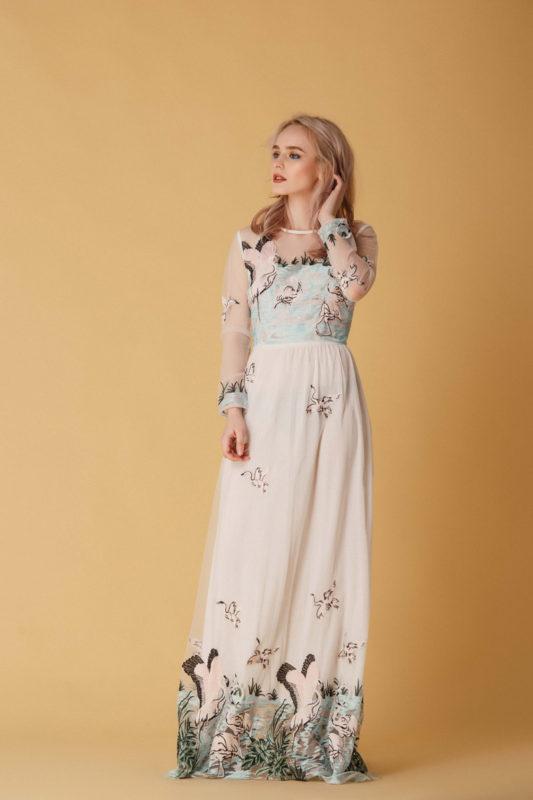 Вечернее платье М041 - фото 1