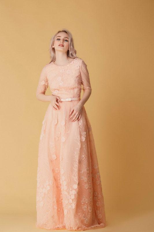 Вечернее платье BU235 - фото 1