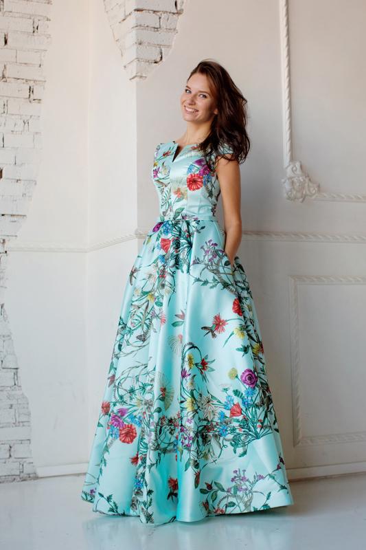Вечернее платье 160919-VB-1736 фото 3