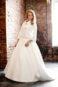 Свадебное пальто: К329 - фото 1