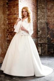 Свадебное пальто: К329 — фото 2