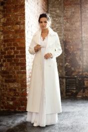 Свадебное пальто: Л004 — фото 1