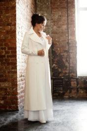 Свадебное пальто: Л004 — фото 2