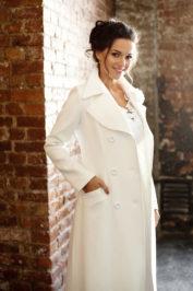 Свадебное пальто: Л004 — фото 3