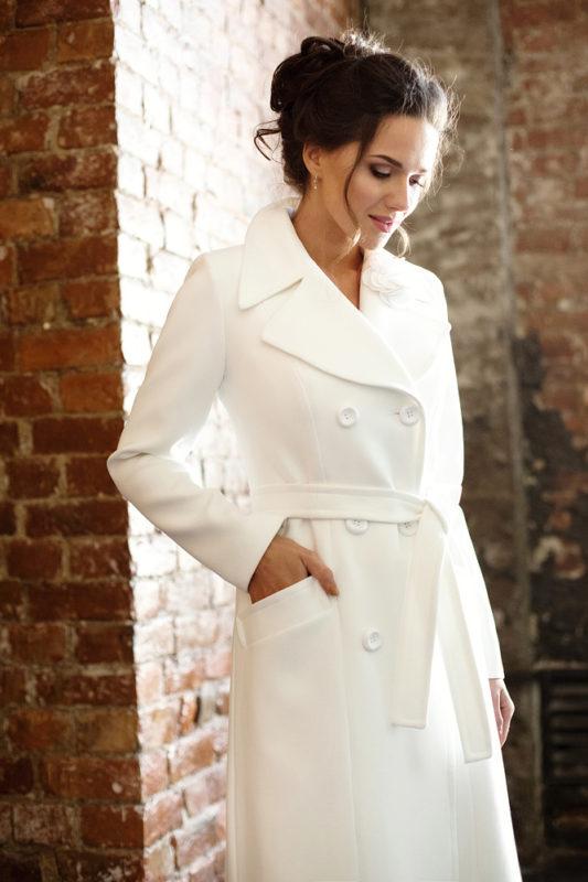 Свадебное пальто: Л004