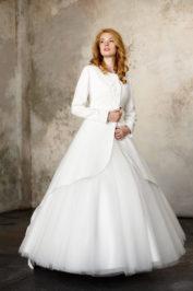 Свадебное пальто: Л003-15 — фото 1