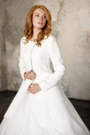Свадебное пальто: Л003-15 — фото 4
