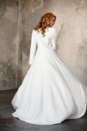 Свадебное пальто: Л003-15 — фото 2