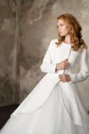 Свадебное пальто: Л003-15 — фото 3