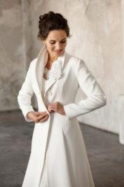 Свадебное пальто: Л001 — фото 2
