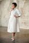 Свадебное пальто с поясом: К471 - фото 1