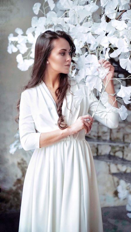 Свадебное платье прямое: ТП11-16С