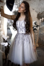 Вечернее платье: 871-1 — фото 1