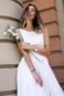 Свадебное платье с открытой спиной ТП 13-16-10С -3