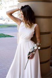 Свадебное платье с открытой спиной ТП 13-16-10С -4
