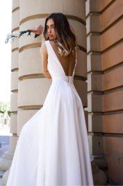 Свадебное платье с открытой спиной ТП 13-16-10С — 2