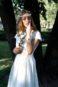 Короткое современное свадебное платье ТП 7-16С-2